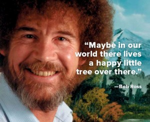 Bob Ross - In Our World