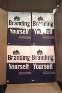 Copies of the book Branding Yourself by Erik Deckers and Kyle Lacy