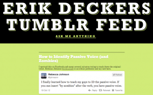 Eriks Tumblr Feed 300x187 Five Pieces of Blogging Advice I Wish Youd Stop Giving