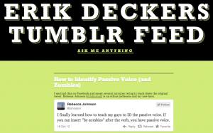 Erik's Tumblr Feed