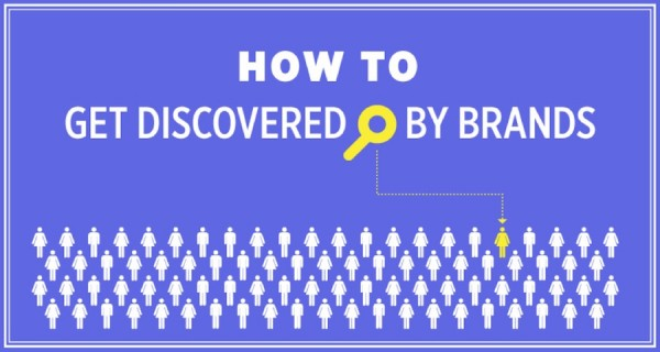 Get Discovered By Brands