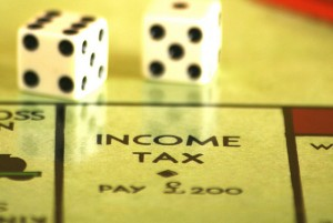 Income Tax Monopoly Square