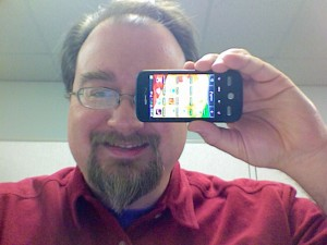 Me and my Droid 300x225 My new HTC Droid