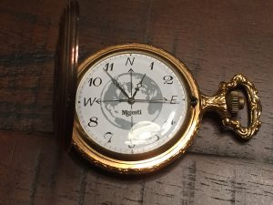 My pocket watch - It should take 1 hour of writing per 300 words of a blog post.