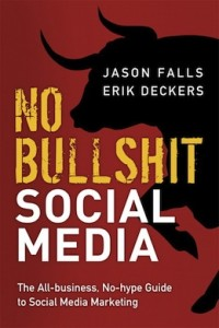 no bullshit social media link cover-purchase on amazon