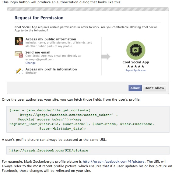 Permission How do Facebook Applications really work and why should I be concerned?