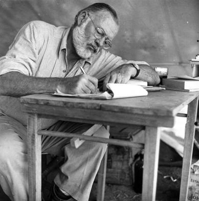 Ernest Hemingway would have been great at content marketing!