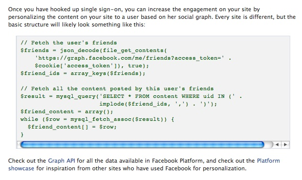 pesonalization1 How do Facebook Applications really work and why should I be concerned?