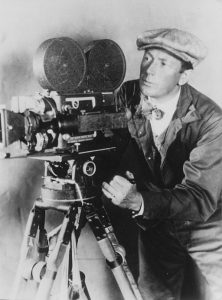 Photo of F. W. Murnau, noted German film director.