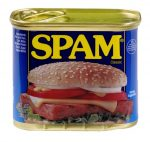 Can of Spam. This is what you're sending people on LinkedIn if you pitch them without starting a relationship.