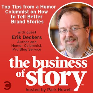 Erik Deckers Teaser for The Business of Story podcast