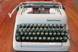 Erik Deckers' Smith-Corona Typewriter