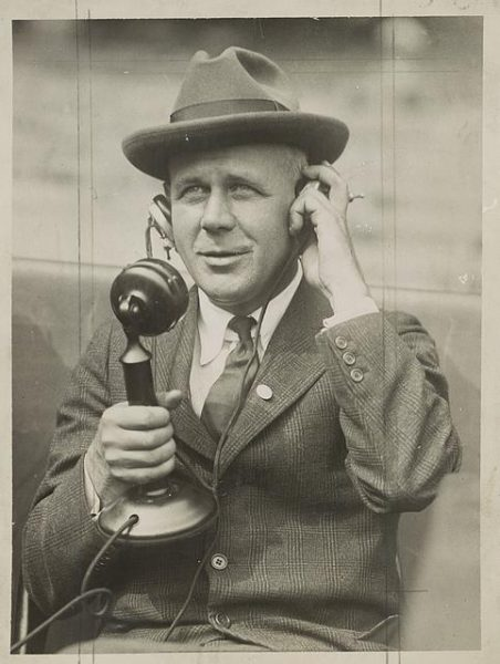 Grantland Rice, one of the best sportswriters in history