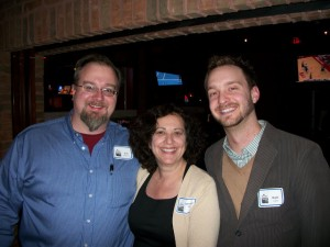 Lorraine Ball, Kyle Lacy, and Me