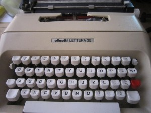 Olivetti Typewriters - these things went away when computers became widely adopted.