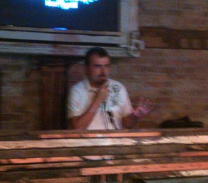 Scott Stratten, author of UnMarketing, speaks at Social Media Club Chicago
