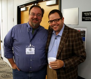 Erik Deckers and Jay Baer at Blog Indiana 2012