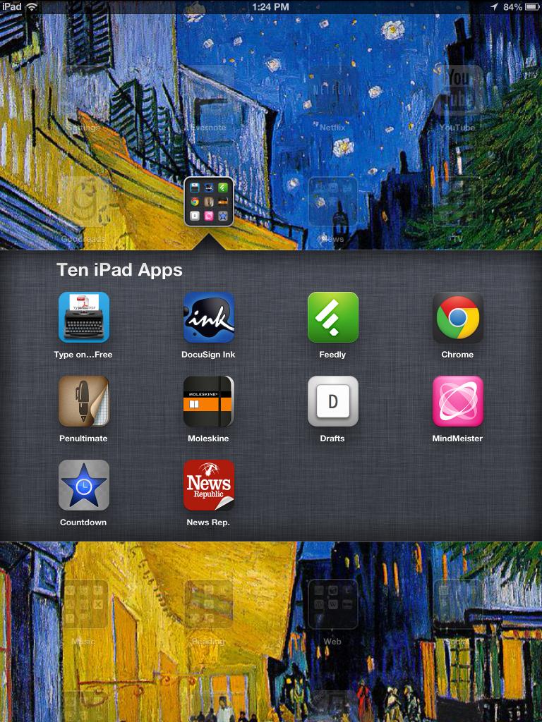 iPad Screen Shot