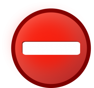 The No Access symbol pretty much illustrates our views on our link sharing policy.