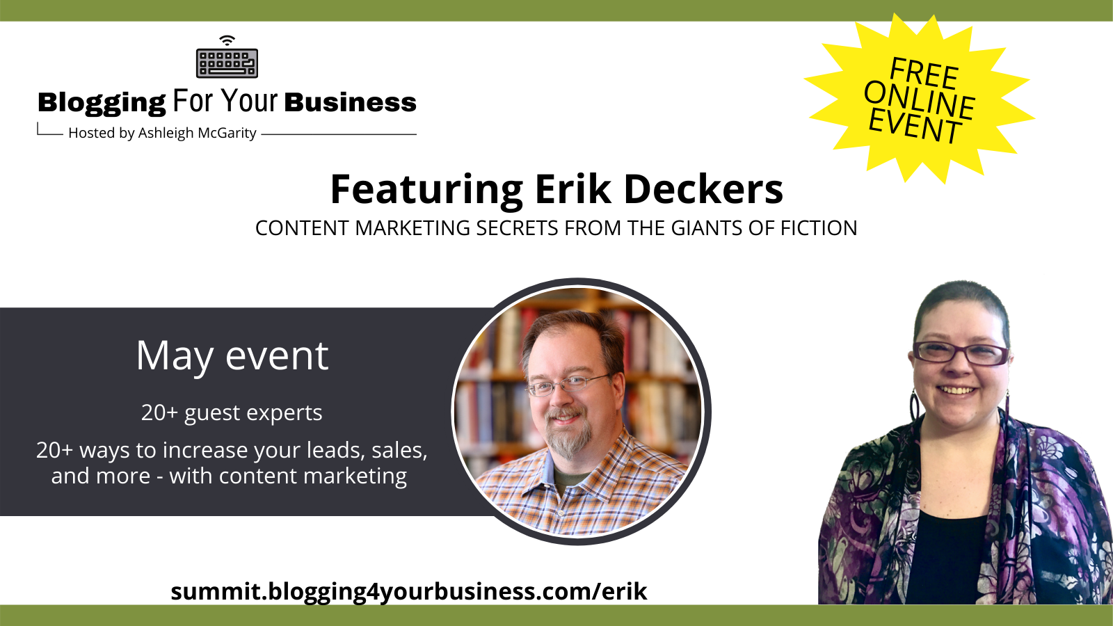 Blogging for Your Business - featuring Erik Deckers